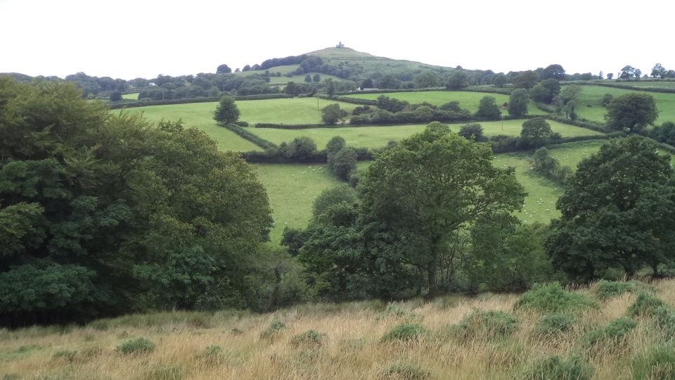 Burn Valley and Brent Tor